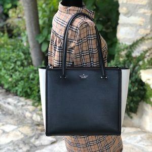 NWT kate spade kona large leather handbag